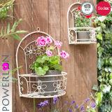 Metalleisen-Blumen-Potenziometer-Standplatz