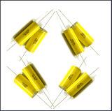 Capacitor metalizado gordo da película do Polypropylene (Cbb20 805j 250V) com fio de cobre para funcionar axial toda a série Cbb20