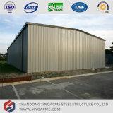 Полуфабрикат здание пакгауза стальной рамки