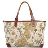 De nieuwe Handtas van de Druk van de Totalisator van het Strand van het Canvas van de Manier voor Dame (rs-8589)