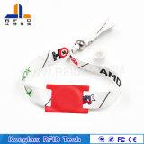 Wristband Braided personalizzato della matrice per serigrafia RFID per immagazzinare