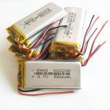клетки иона Li батареи Lipo полимера лития 3.7V 560mAh 602248 перезаряжаемые для мобильного телефона GPS PSP камеры MP3