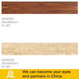 Inkject 지면과 벽 Wd91504 150X900mm를 위한 나무로 되는 애처로운 시골풍 사기그릇 도와