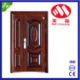 Puerta de la Hijo-Madre de la puerta exterior de la cañería del hierro de la seguridad del precio de fábrica