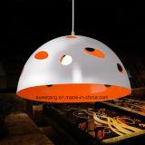 Lámpara pendiente de aluminio de la venta caliente de Zhongshan Guzhen para el restaurante