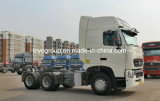 De Vrachtwagen van de Tractor van Sinotruk hOWO-T7h 400HP 6X4 voor de Vrachtwagen van de Aanhangwagen