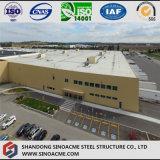 Große Überspannungs-vorfabriziertes Stahllager für Logistik-Mitte