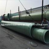 Pipe de processus composée de fibre de verre de polyester de FRP GRP dans Dn25-4000mm