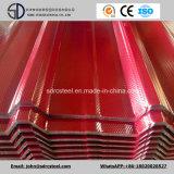 PPGIのGIのカラーによって塗られる電流を通された波形の鋼鉄屋根ふきシート