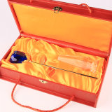Le cadeau romantique bleu rouge de Valentine d'anniversaire de faveur de mariage de fleur en cristal de Rose