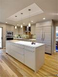 Diseño de madera libre de la cabina de cocina de la chapa del grano de China Rta del diseño