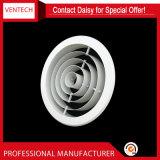 Diffuseur en aluminium de gicleur de diffuseur circulaire d'air de qualité