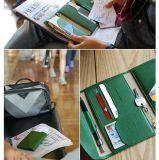 2015革PUのパスポート文書の札入れ(FS6991)