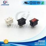 Miniein-auswippenschalter rechteckiger einzelner Pole der Qualitäts-Kcd1-101 15*10mm