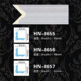 Kroonlijst die van het Decor van het Plafond van het Spoor Pu van de Stoel van het polyurethaan de Klassieke hn-8656 vormen