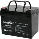 batterie d'acide de plomb de 12V 33ah pour Lighitng solaire