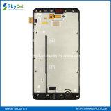 Nokia Lumia 640XLのためのフレームが付いているオリジナルの電話LCDスクリーン