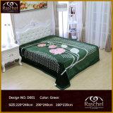 Одеяло одеяла 100% норки типа Raschel полиэфира корейского