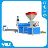 Recycleer Plastic Korrels Makend Machine