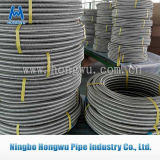 O ISO ondulado anular da bobina Certificate a mangueira do metal
