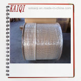 Двойной провод спирального изгиба петли стальной