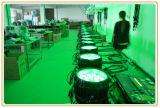 acontecimiento impermeable de la luz de la etapa ligera de la IGUALDAD de 18*12W RGBW 4in1 LED Wedding la iluminación al aire libre del jardín