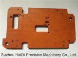 Pièce de usinage de commande numérique par ordinateur de machines d'usine de plaque de bakélite de précision automatique de pièce