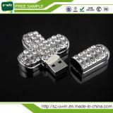 De modieuze PromotieAandrijving van de Flits van de Bloem USB van Juwelen
