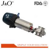 Hohes Quanlity gesundheitliches Pnumatic Drosselventil mit Stailness Stahl-Stellzylinder