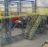 Calzada de acero galvanizada de la plataforma de la INMERSIÓN caliente con la reja de acero