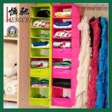 Tejida armario no Colgando Zapatos Bolsa de almacenamiento de ropa Organizador