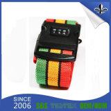 Изготовленный на заказ ярлык ткани удостоверения личности для планки/пояса багажа