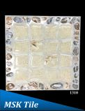 """12X12 """" 5Dの磨かれた水晶小石の床タイル1307年"""