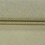 Couro artificial de bronzagem de venda quente do plutônio para a parte superior de sapatas do `S das mulheres