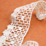 L60006 17cm Algodão Lace Collar Collar Lace Corded Lace Applique