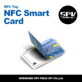Smart card em branco do PVC Nfc com a microplaqueta F08