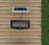 Lámpara solar ahorro de energía 10W pared de luz solar luz PIR de seguridad exterior de luz LED