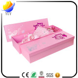 Kundenspezifischer Papierkasten-schöner Blumen-Kasten-und Feiertags-Geschenk-Kasten