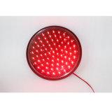 luz verde impermeable de la señal de tráfico de 300m m Lampwick LED