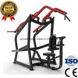 Нагруженное плитой ISO-Боковое переднее оборудование пригодности гимнастики прочности молотка Pulldown Lat