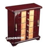 Коробка подарка упаковки ювелирных изделий высокого качества деревянная с ящиком