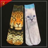 Nach Maß Abbildung gedruckte Polyester-Socken-Hersteller
