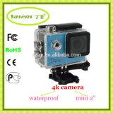 Кулачок DV спорта видеокамеры 4k WiFi с водоустойчивым случаем