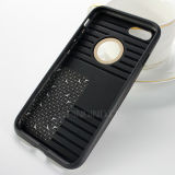 Het hybride Geval van de Telefoon van de Tribune van de Vezel van de Koolstof voor iPhone 7 4.7inch