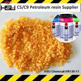 Point de ramollissement élevé thermique de résine de pétrole de la résine C9 d'hydrocarbure poly
