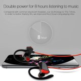 Receptor de cabeza sin hilos de Earbud de los auriculares de Bluetooth con el Mic para ejecutarse para el iPhone Samung etc.