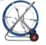 Conduit blanc Rod de poussée de Rodder de conduit de fibre de verre