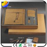 Conjuntos de regalo de negocios con encanto para el titular de la tarjeta de nombre y el llavero de metal y la pluma y el organizador de la llave y la caja de la tarjeta con Slap-up Watch Box