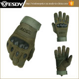 軍ハンチング戦術的な循環のAirsoft完全な指は手袋の緑を遊ばす
