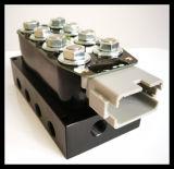 Le elettrovalvole a solenoide di Accuair Vu4, le valvole molteplici del sistema di sospensione, valvola di giro dell'aria, hanno insaccato
